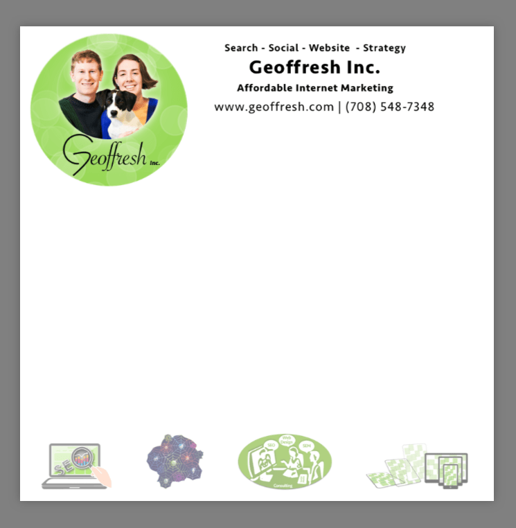 Geoffresh post-its