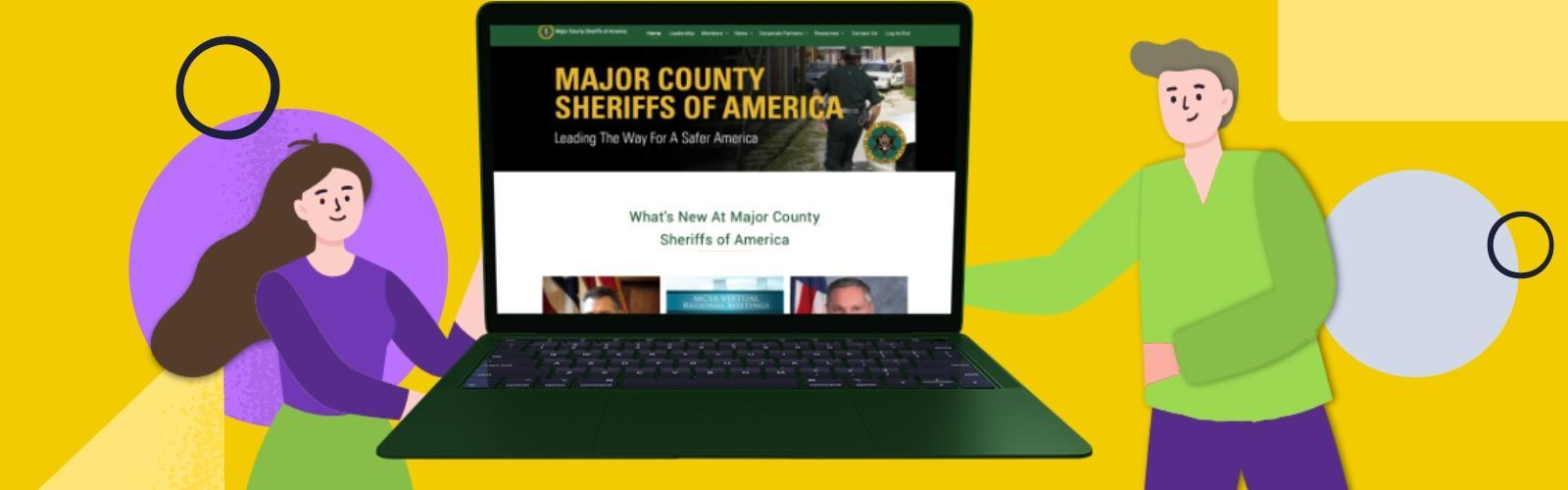Major County Sheriffs Of America Website Showcase