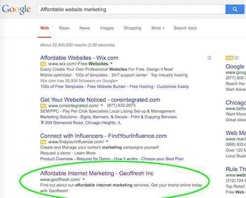 Affordable Website Design with SEO